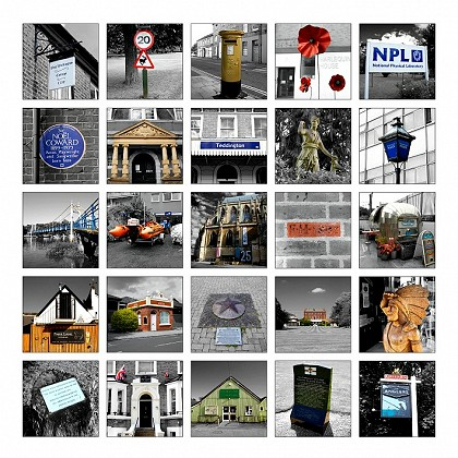 • Emma Durnford's special edition of Teddington sights is on sale now, in aid of the Landmark Arts Centre