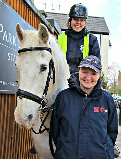 • Top award for Natalie at the Park Lane Stables