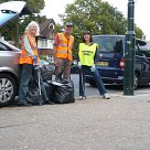 Litterpick around Teddington Station